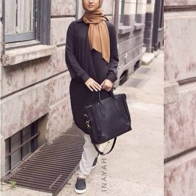 Chic woman on Hijab